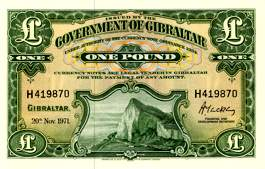 Гибралтар Один фунт Gibraltar One pound